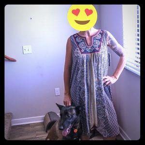 Bohemian Style Luxology Summer Dress. NWT